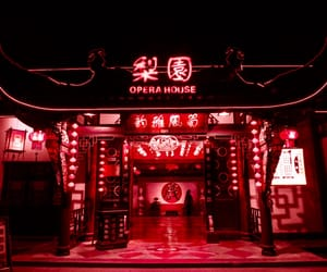 aesthetic, china, and light image