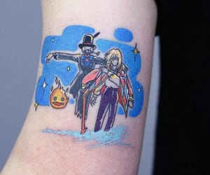 anime, body art, and ink image