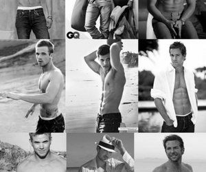 black and white, Taylor Lautner, and cam gigandet image
