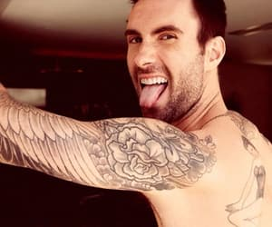 handsome, sexy, and adam levine image