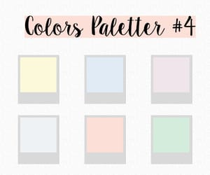 color palette, photoshop, and swatch image
