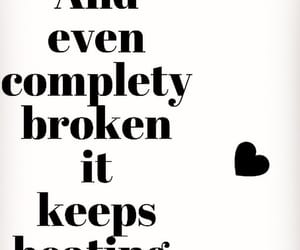 broken heart, survive, and moving on image