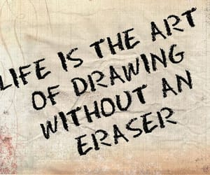 life, quotes, and art image