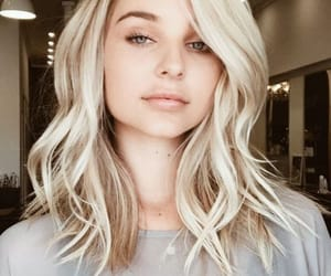 blond hair, cabelo, and loira image