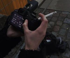 cigarette, black, and grunge image
