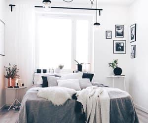 bedroom, goals, and interior decor image