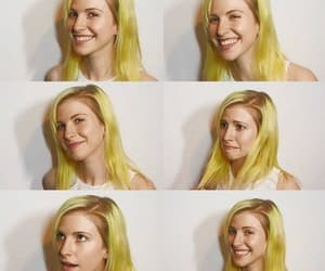 hayley williams, smile, and yellow image
