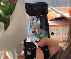 aesthetic, flowers, and photo image
