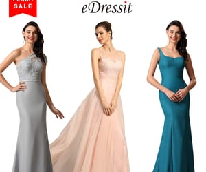 fashion, party dresses, and evening gowns image