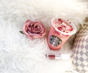 beauty, blogger, and drink image