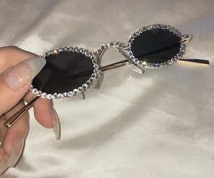 aesthetic, glasses, and nails image