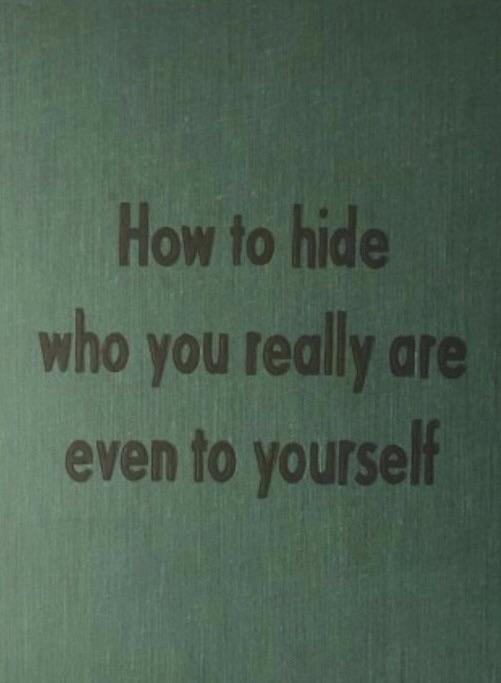 anxious, feelings, and hide image