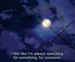 quotes, moon, and anime image