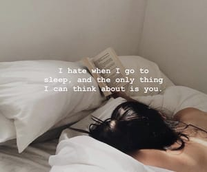 bed, feelings, and poem image