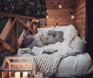 comfortable, outside, and patio image