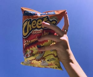 cheetos, aesthetic, and blue image