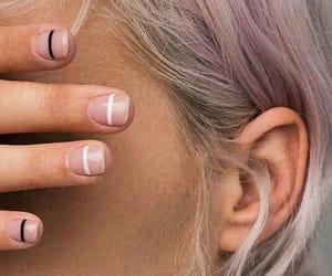 eye, fashion, and nails image