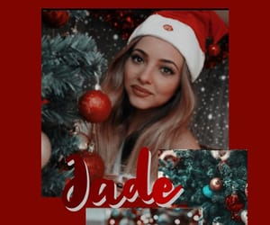 background, christmas, and little mix image