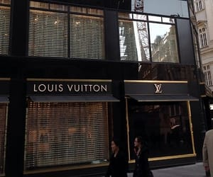 Louis Vuitton, LV, and shop image