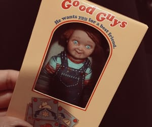 Chucky, good guy, and collectibles image