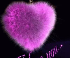 gif, I Love You, and pink image