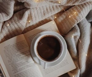coffee, autumn, and book image