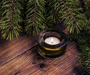 beautiful, candle, and christmas image