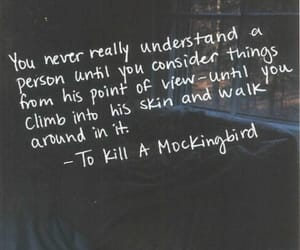 quotes, book, and to kill a mockingbird image