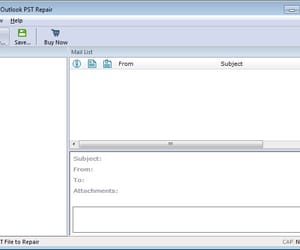 outlook pst repair, ost to pst recovery, and outlook pst repair tool image