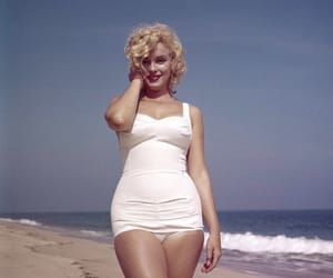 beauty, Marilyn Monroe, and vintage image