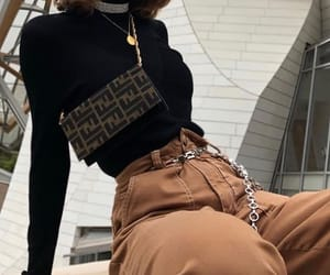 bag, clothes, and pants image