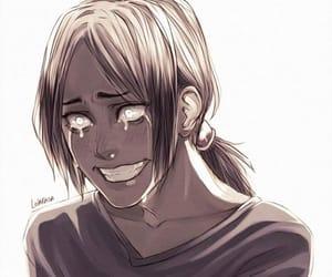 anime, crying, and art image