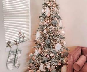 bright, christmas tree, and home image