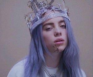 billie, billie eilish, and crown image