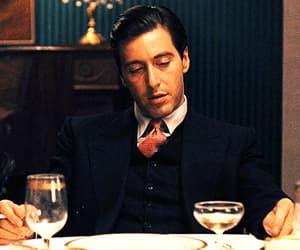 al pacino, corleone, and don vito image