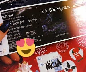 amazing, ticket, and edsheeran image