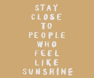 quotes, sunshine, and people image