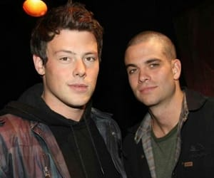 cory monteith and mark salling image