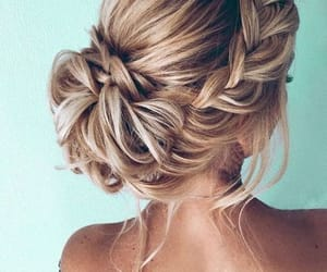 hair, hair styles, and pretty hair style image
