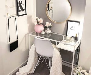 bedroom, decor, and dressing room image