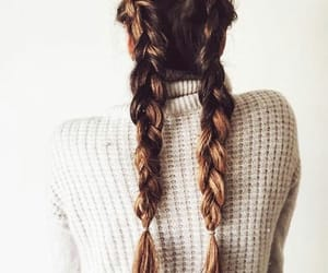 beauty, hairstyle, and fashion image