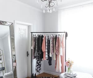 clothes, bedroom, and closet image