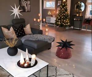 christmas, home, and interior image