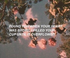 quotes, broken, and Lyrics image