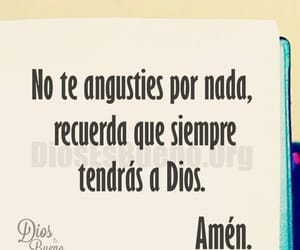 frases, dios, and no te angusties image