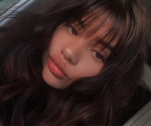bangs, girls, and inspo image