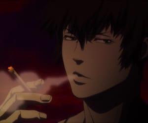 anime, kogami shinya, and anime boy image