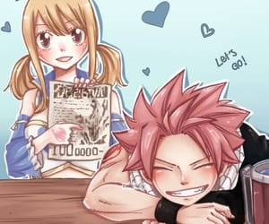 coloring, fairy tail, and nalu image