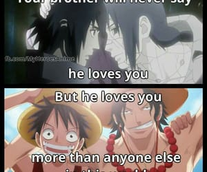 naruto, one piece, and anime quotes image