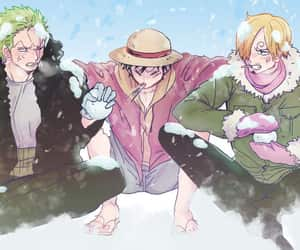 one piece, roronoa zoro, and anime boys image